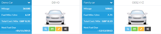 Vehicle Mileage Sheetonline