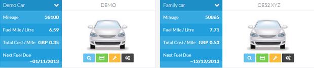 Vehicle Mileage Sheetonline